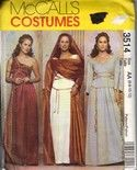 McCall's 3514 Greek Roman Goddess Costume Pattern Uncut [3514] - $20.00 : The Vintage Cache