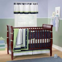 Bananafish Nantucket baby crib bedding sets, along with Bananafish Nantucket baby crib bedding accessories, are available at Baby SuperMall with low prices and more pictures than any other retailer.
