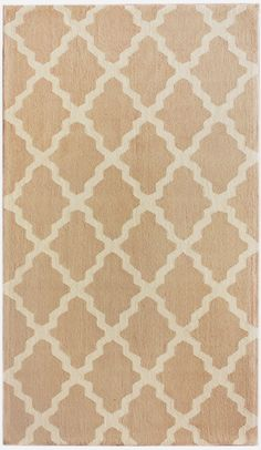 Using a unique checkered pattern this cream Nuloom area rug is sure to enlarge and enhance any room with its nuetral color and graceful pattern resulting in sophistication and elegance.RugStudio # 61832Brand: NuloomCollection: ContempoPromotion:...