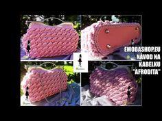 Ako uháčkovať Kabelku? - Ľahké háčkovanie so značkou 👜 EModaShop.eu Crochet Hats, Youtube, Handmade, Bags, Aphrodite, Knitting Hats, Handbags, Hand Made, Youtubers