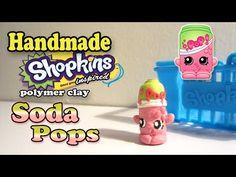 How To Make Shopkins: Soda Pops Polymer Clay Tutorial! - YouTube
