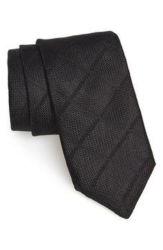 Todd Snyder White Label Windowpane Silk Tie