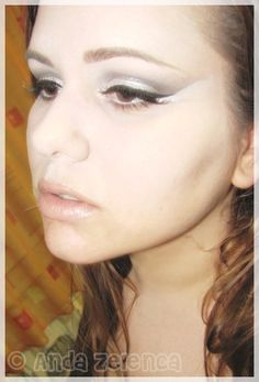 Make-up inspired by - White Swan