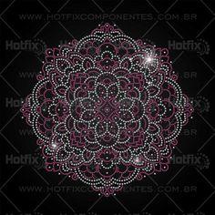 Strass Hotfix Mandala - Ref.: 1418