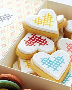Cross-Stitch Cookies