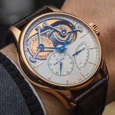 Critique of the Zenith Academy George Favre-Jacot watch for the brand's 150th birthday in 2015.