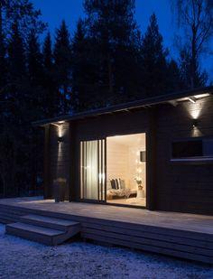 Moderni pihasauna | löylyvalmis |  New Sauna