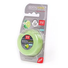 Bergamot & Lime Dental Floss from Italy  - Leave it to the Italian's to create this tasty flavor combination.  The only other place I see the Bergamot flavor is in Earl Grey tea.