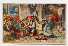 CRANNER Gnomes, Auction, Painting, Art, Pictures, Art Background, Painting Art, Kunst, Paintings