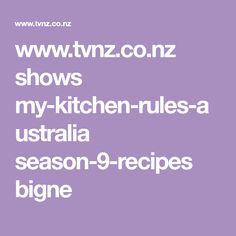 www.tvnz.co.nz shows my-kitchen-rules-australia season-9-recipes bigne