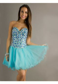 A-line Sweetheart Sleeveless Tulle Blue Homecoming Dress With Beading #FP236 - See more at: http://www.victoriasdress.com/prom-dresses/short-prom-dresses.html?p=5#sthash.iU13h3cU.dpuf