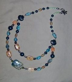 Free Bead Jewelry Making Ideas | Bib Style Necklace Design Idea