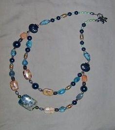 Free Bead Jewelry Making Ideas | Bib Style Necklace Design Idea