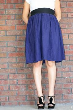Mama Mia: Tutorial Tuesday: How to make an easy maternity skirt