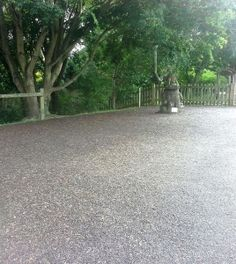 Rubber mulch is a great safety surface for when you want a natural aesthetic. It has the appearance of bark chippings, but doesn't create a mess! Find out more at www.billybounce.co.uk