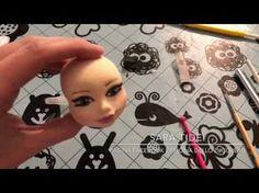 Le Torte di Twin - tutorial viso in pasta di zucchero by Emanuela Coppini in arte Twin - YouTube