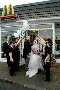 Married at McDonalds #funny