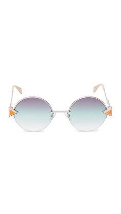 7b42283a0b5 Fendi Round Sunglasses Classy And Fabulous