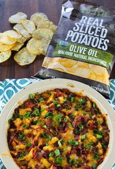 Barbecue Bacon Chicken Dip...is this real life? This is hands down one of the best appetizers out there.