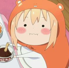 "Aimi Tanaka Chows Down for ""Himouto! Umaru-chan R"" Loli Kawaii, Kawaii Anime Girl, Anime Art Girl, Anime Faces Expressions, Chibi, Anime Meme Face, Himouto Umaru Chan, Anime Lindo, Dibujos Cute"