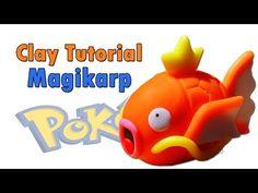 Pokémon Magikarp polymer clay tutorial