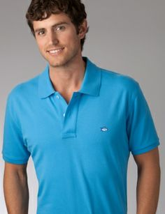 Southern Tide's Skipjack Polo - Classic: The best, most comfortable classic polo ever made! Polo Classic, Southern Tide, Pique Polo Shirt, Sports Shirts, Polo Ralph Lauren, Polo Blue, Men's Polo, Mens Fashion, My Style