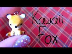 Kawaii Fox Tutorial: Polymer Clay :)