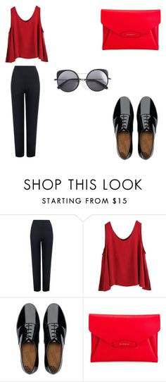 """""""my spring"""" by lgosudareva on Polyvore featuring WearAll, WithChic, FitFlop, Givenchy and Wood Wood"""