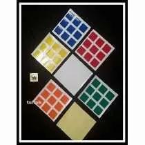 Adesivo P/ Cubo Magico Stickers 3x3 Dayan Rubik Envio Rapido