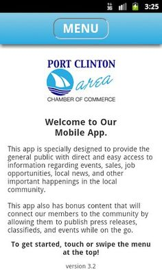 Port Clinton Area Chamber Of Commerce  is located in Historic Downtown Port Clinton on Lake Erie.  Providing Visitor Information on Lodging, Restaurants, Fishing Charters, etc.  Also, Relocation packages and Business Resources.<p>The City of Port Clinton, commonly known as the Walleye Capital of the World, is a great destination located on Lake Erie in Ottawa County, Ohio. Our beautiful shoreline community features a natural preserve that provides habitat for many of the areas wildlife…