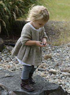 Crochet sweater dress ravelry Heidi May The Velvet Acorn
