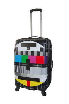PRICE CRASH Saxoline TV Test Screen Suitcase RRP £109.95 SAVE 72% NOW £30.91 delivered