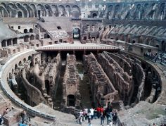 Collesium (Top View), Rome, Itlay