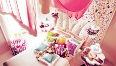 Pembe tonlarda küçük kız çocuk odası tasarımı (pink little girl room design) ALTAMODA  http://www.dhtasarim.com/pembe-tonlarda-kucuk-kiz-cocuk-odasi-tasarimi-pink-little-girl-room-design.html#