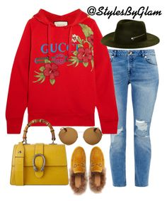 """""""Life is Gucci"""" by stylesbyglam on Polyvore featuring Ted Baker, Gucci, Larose and Givenchy"""