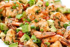 Can never say no to shrimp + avocado! Kickstart 2014 With This Delicious (And Guilt-Free!) Dinner #Refinery29