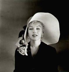 Marilyn Monroe, 1958. Photo: Carl Perutz.