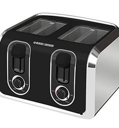 Black & Decker 4-Slice Stainless-Steel Toaster from Visual Stylist