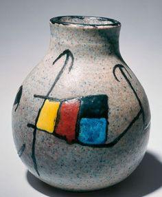 Vase by joan miró