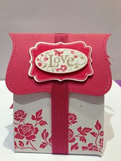 A cute box for your Valentine