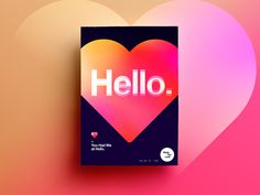 Made You Look | 42 | You Had Me at Hello. by StudioJQ #Design Popular #Dribbble #shots
