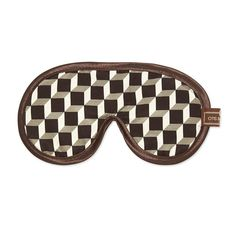 Discover the Otis Batterbee Men's Eye Mask - Grey Tile at Amara