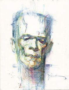 Frankenstin by Bill Sienkiewicz
