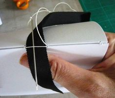 Ribbon binding – a tutorial --- My books and how to make them | Much of a muchness