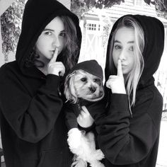 3 favorite things in the world Sarah,Sabrina, and PLL.