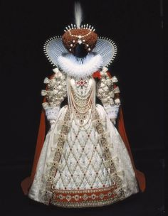 white and red detailed elizabethan dress gown renaissance photo whiteandredelizabethandress.jpg