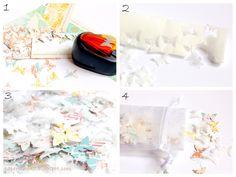 PaperVine: Wedding Tutorials Day 3 - Confetti