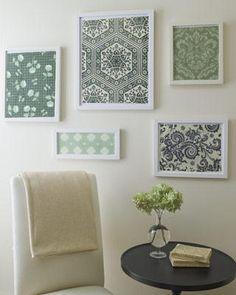 Wallpaper design junkies delight. #Kitchen Wall Decor Ideas by marta