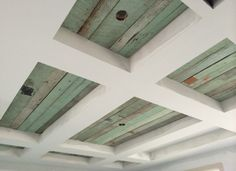 In love with this ceiling of a clients!