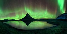 Aurora Storm at Kirkjufell : Iceland by noomplayboy  on 500px